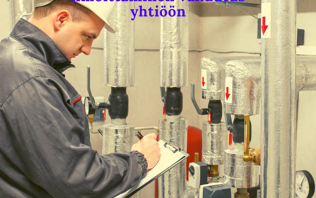 Putkiremontin rakentaminen, valvonta, rakennustyön tarkastus ja ilmoittaminen vakuutus yhtiöön